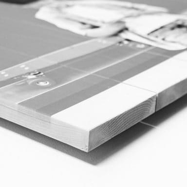 Printing photo on wood