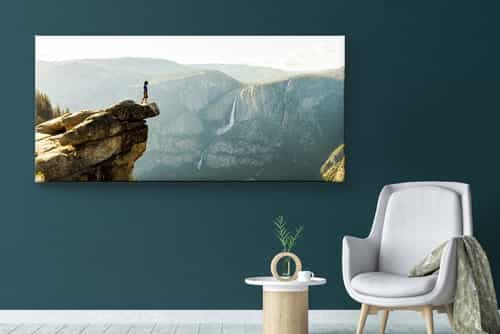 Canvas print panoramic